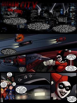 Adult Comics 2 Boys Ride A Harley (Batman) Porn Comic 02