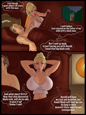 Interracial : 2 Hot Blondes Bet On Big Black Cocks Porn Comic