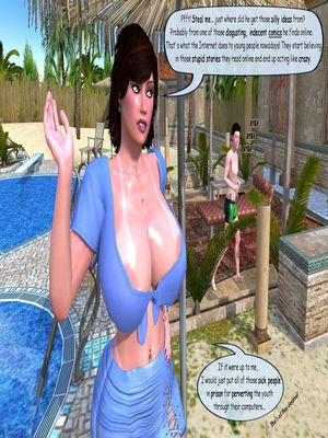 3D Porn Comics 3D Incest- Better safe than Sorry Porn Comic 29