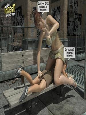 3D Porn Comics 3D Incest- Mom And Her Bad Boy Porn Comic 08