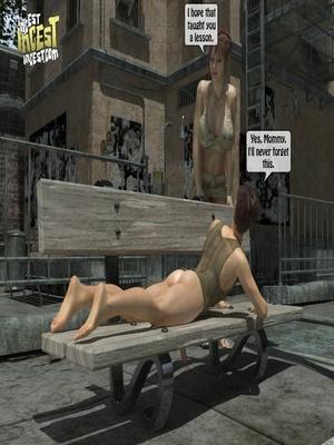 3D Porn Comics 3D Incest- Mom And Her Bad Boy Porn Comic 10