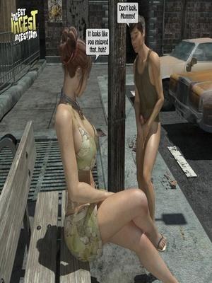 3D Porn Comics 3D Incest- Mom And Her Bad Boy Porn Comic 11