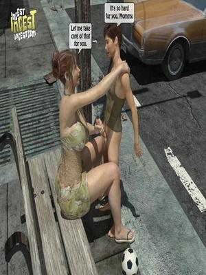 3D Porn Comics 3D Incest- Mom And Her Bad Boy Porn Comic 12