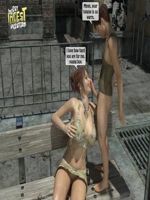 3D Porn Comics 3D Incest- Mom And Her Bad Boy Porn Comic 13