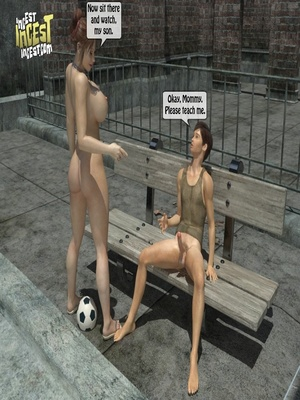 3D Porn Comics 3D Incest- Mom And Her Bad Boy Porn Comic 22