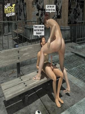 3D Porn Comics 3D Incest- Mom And Her Bad Boy Porn Comic 23