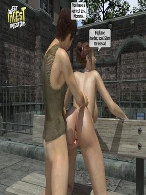 3D Porn Comics 3D Incest- Mom And Her Bad Boy Porn Comic 25