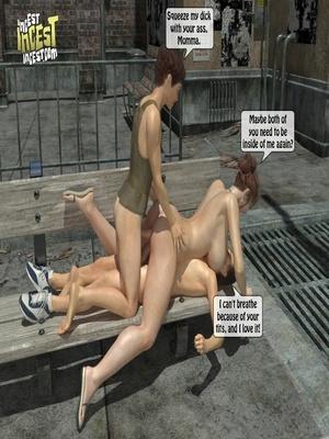 3D Porn Comics 3D Incest- Mom And Her Bad Boy Porn Comic 32