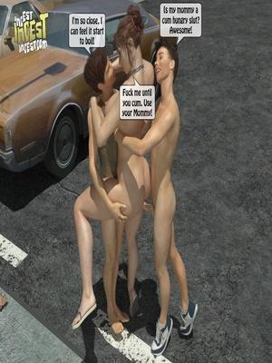 3D Porn Comics 3D Incest- Mom And Her Bad Boy Porn Comic 35