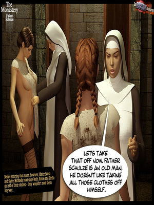 3D Porn Comics 3dBDSMdungeon- The Monastery – Father Shulze Porn Comic 06
