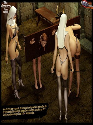 3D Porn Comics 3dBDSMdungeon- The Monastery – Father Shulze Porn Comic 18