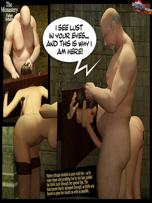 3D Porn Comics 3dBDSMdungeon- The Monastery – Father Shulze Porn Comic 24