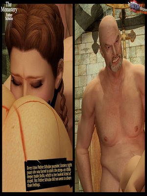 3D Porn Comics 3dBDSMdungeon- The Monastery – Father Shulze Porn Comic 35