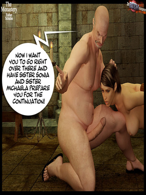 3D Porn Comics 3dBDSMdungeon- The Monastery – Father Shulze Porn Comic 39