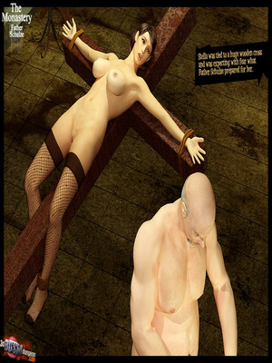 3D Porn Comics 3dBDSMdungeon- The Monastery – Father Shulze Porn Comic 41