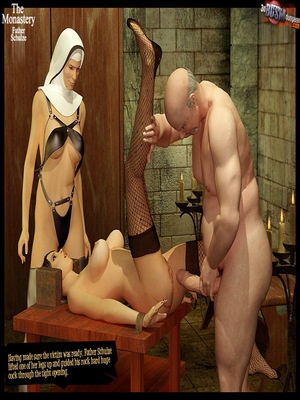 3D Porn Comics 3dBDSMdungeon- The Monastery – Father Shulze Porn Comic 58