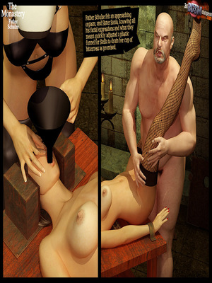 3D Porn Comics 3dBDSMdungeon- The Monastery – Father Shulze Porn Comic 65