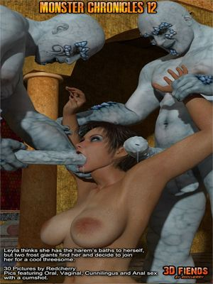Porn Comics - 3DFiends- Monster Chronicles 12 free Porn Comic