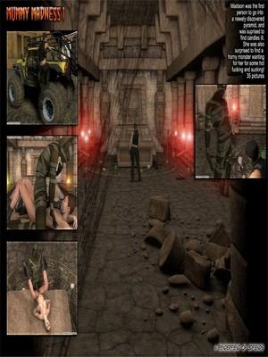 Porn Comics - 3DFiends- Mummy Madness free Porn Comic