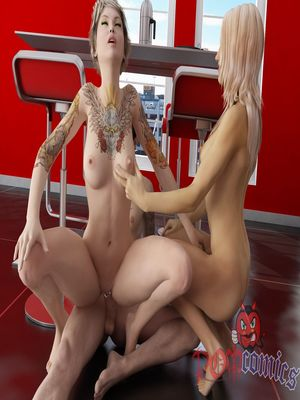 Lucky Son Fucks Mom And Sister free Porn Comic sex 14