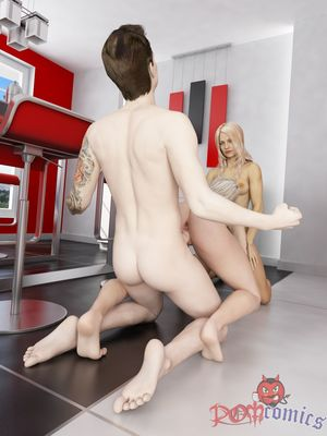 Lucky Son Fucks Mom And Sister free Porn Comic sex 17