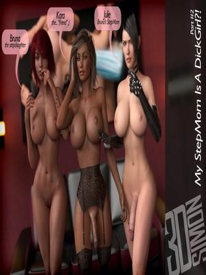Porn Comics - 3DSimon- My StepMom Is a DickGirl 2 free Porn Comic
