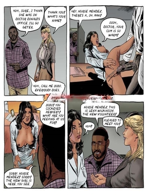 Interracial Comics A Day in the Life of Lena Wilkerson Porn Comic 07