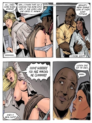 Interracial Comics A Day in the Life of Lena Wilkerson Porn Comic 14