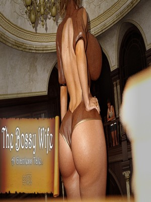 3D Porn Comics A Giantess Tale- The Bossy Wife Porn Comic 01