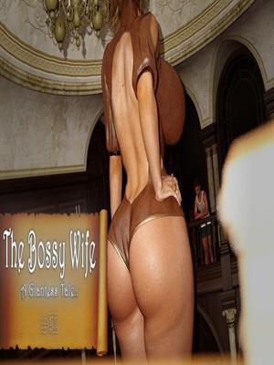 Porn Comics - 3D : A Giantess Tale- The Bossy Wife Porn Comic
