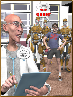 3D Porn Comics Alpha Woman- The Geek wins Day Porn Comic 03