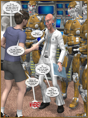 3D Porn Comics Alpha Woman- The Geek wins Day Porn Comic 04