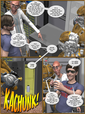 3D Porn Comics Alpha Woman- The Geek wins Day Porn Comic 05