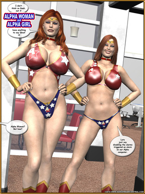3D Porn Comics Alpha Woman- The Geek wins Day Porn Comic 06