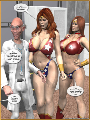 3D Porn Comics Alpha Woman- The Geek wins Day Porn Comic 16