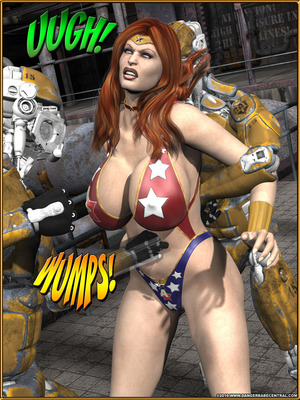 3D Porn Comics Alpha Woman- The Geek wins Day Porn Comic 40