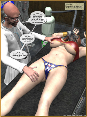 3D Porn Comics Alpha Woman- The Geek wins Day Porn Comic 52