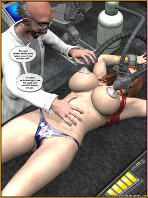 3D Porn Comics Alpha Woman- The Geek wins Day Porn Comic 54