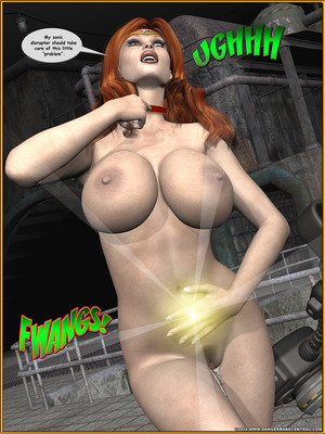 3D Porn Comics Alpha Woman- The Geek wins Day Porn Comic 83