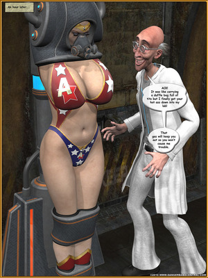 3D Porn Comics Alpha Woman- The Geek wins Day Porn Comic 88