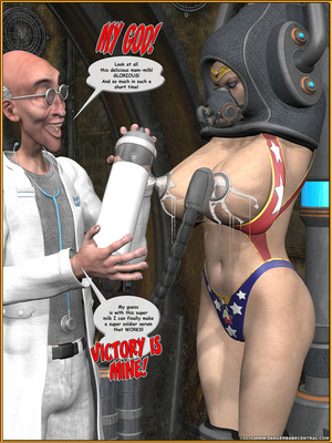 3D Porn Comics Alpha Woman- The Geek wins Day Porn Comic 92