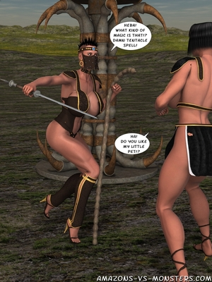 Amazons & Monsters- Renegades free Porn Comic sex 08