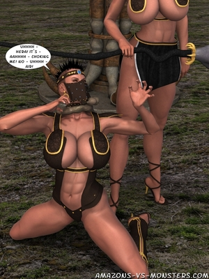 Amazons & Monsters- Renegades free Porn Comic sex 10