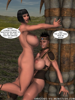 Amazons & Monsters- Renegades free Porn Comic sex 20