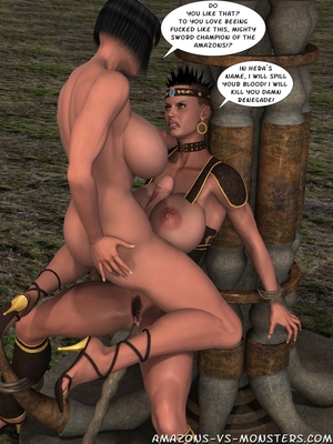 Amazons & Monsters- Renegades free Porn Comic sex 23