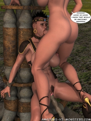 Amazons & Monsters- Renegades free Porn Comic sex 25