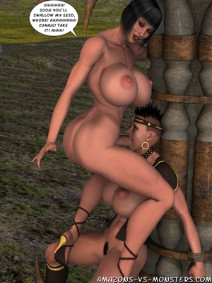 Amazons & Monsters- Renegades free Porn Comic sex 27