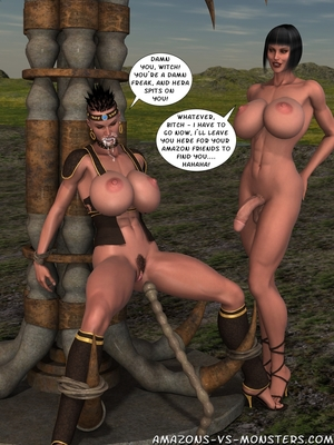 Amazons & Monsters- Renegades free Porn Comic sex 28