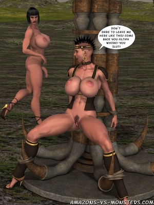 Amazons & Monsters- Renegades free Porn Comic sex 29