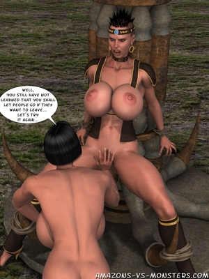 Amazons & Monsters- Renegades free Porn Comic sex 30